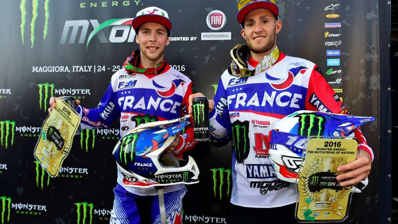 Yamaha Riders Win at 2016 Motocross of Nations