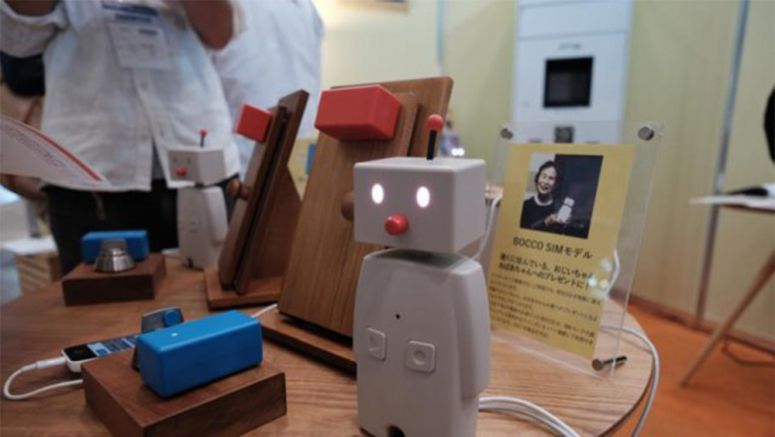 CEATEC 2016: The Bocco Family Robot Now Comes With Support For SIM Cards