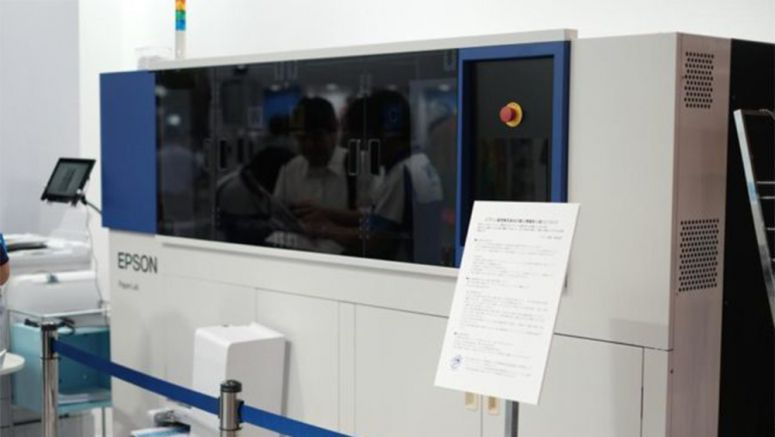 CEATEC 2016: Epson's PaperLab Lets You Recycle Paper In The Office