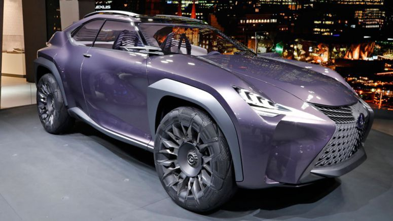 A Closer Look at the Lexus UX Crossover Concept Wheel Design