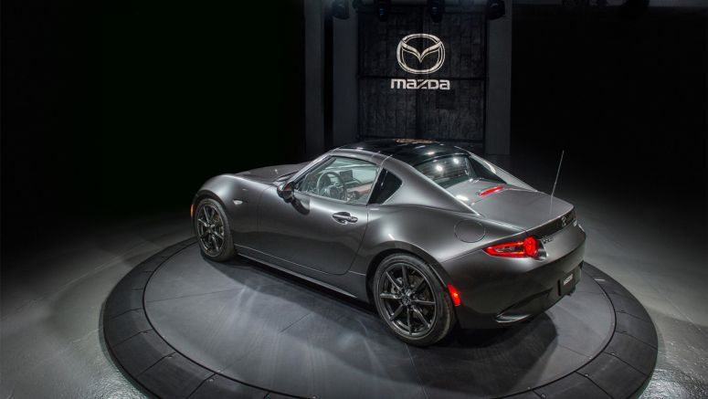 Mazda MX-5 Retractable Fastback Priced From £22,195 In The UK