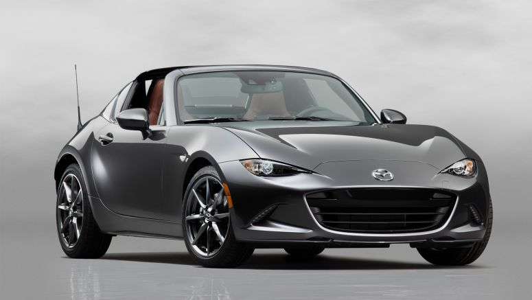 The Mazda MX-5 Miata RF's trick roof will cost you at least $2,555 extra