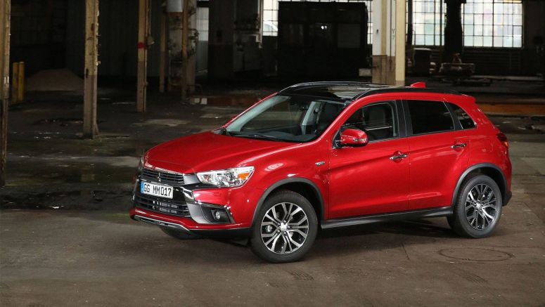 2017 Mitsubishi ASX Puts On A Fresh Face In Paris