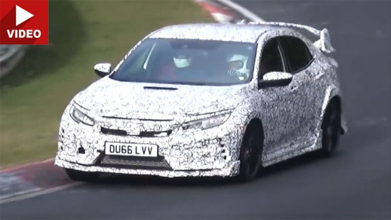 New 2018 Honda Civic Type R Hits The 'Ring Chasing FWD Record