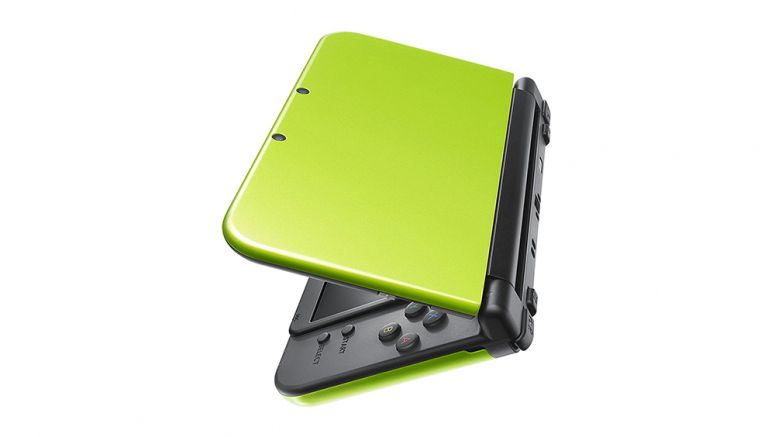 New Nintendo 3DS XL In Lime Green Is An Amazon Exclusive