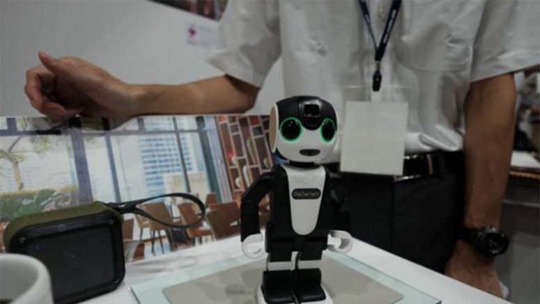CEATEC 2016: Sharp's RoboHon Can Now Double Up As A Waiter/Tour Guide