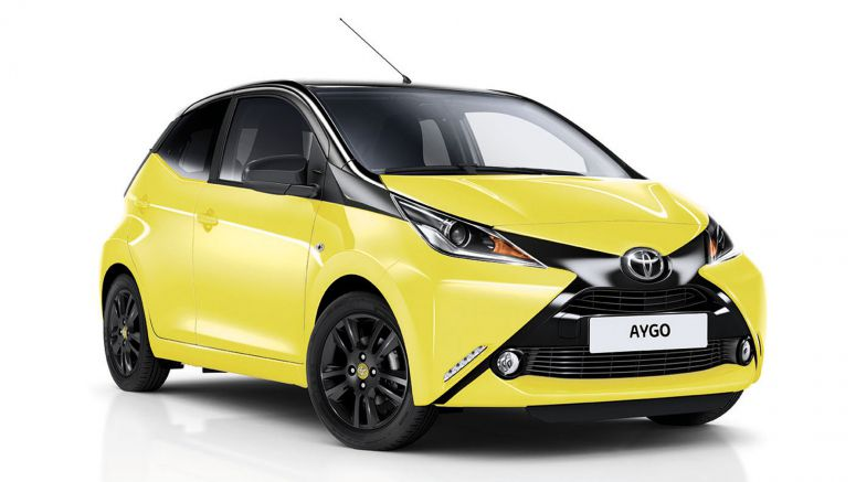 Toyota Does Its Best To X-Cite Italy With Aygo Yellow Edition