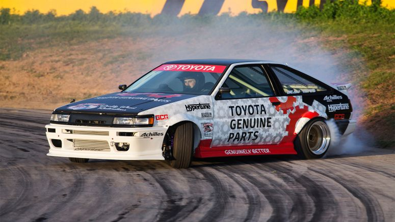 Toyota: Drift Legend Unveils A Reborn Warrior At 2016 World Time Attack Championship