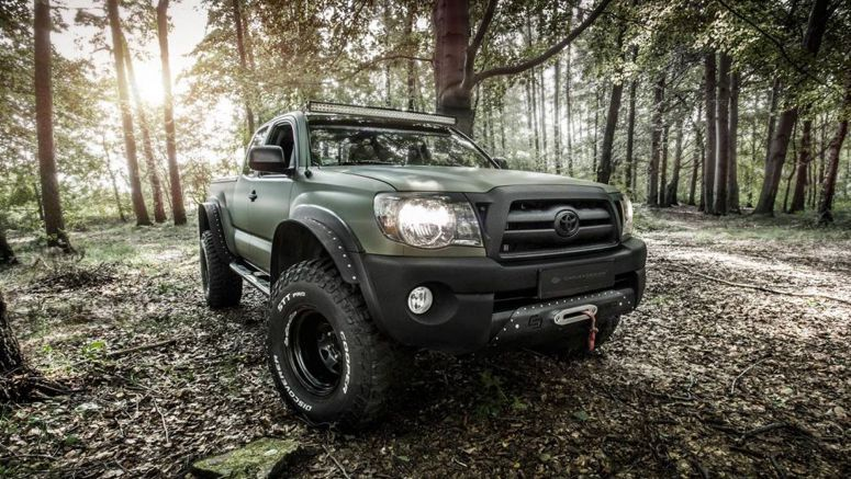 Carlex Makes The Toyota Tacoma More Rugged Outside, Plusher Inside