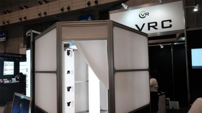 CEATEC 2016: VRC's Shun'X Is A 3D Body Scanner That Works Quickly