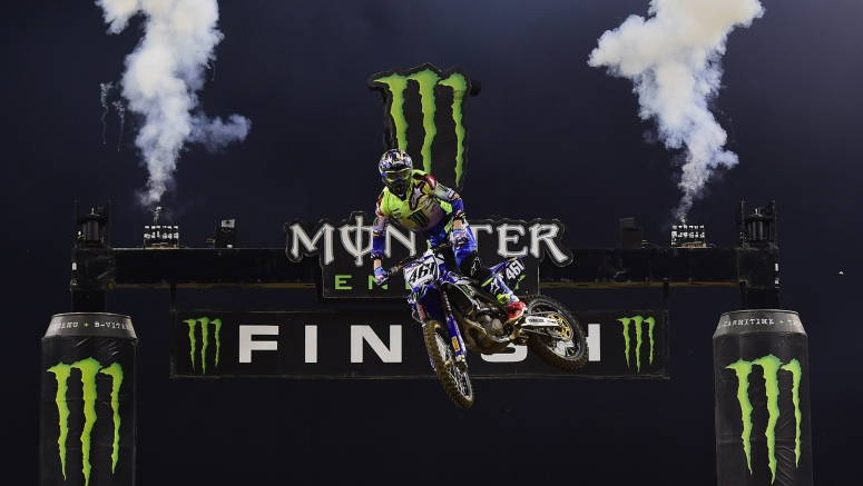 Yamaha Comes Out Fighting for the Monster Energy SMX Riders' Cup