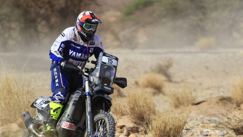 Yamaha In Contention For Top Honours After Stage One At Morocco Rally