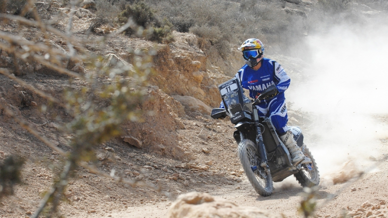 Yamaha Racing Riders Get Things Underway At Morocco Rally 2016