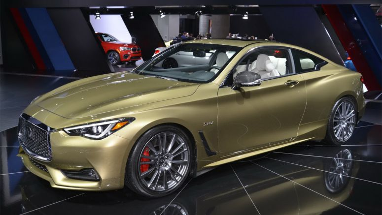 2016 Los Angeles: Neiman Marcus Edition 400HP Infiniti Q60 Stays Classy