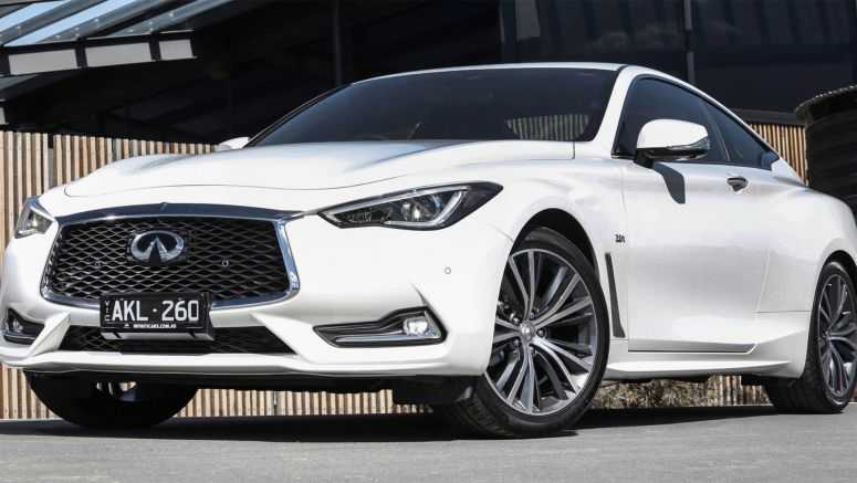 2017 Infiniti Q60 pricing and specs in Australia