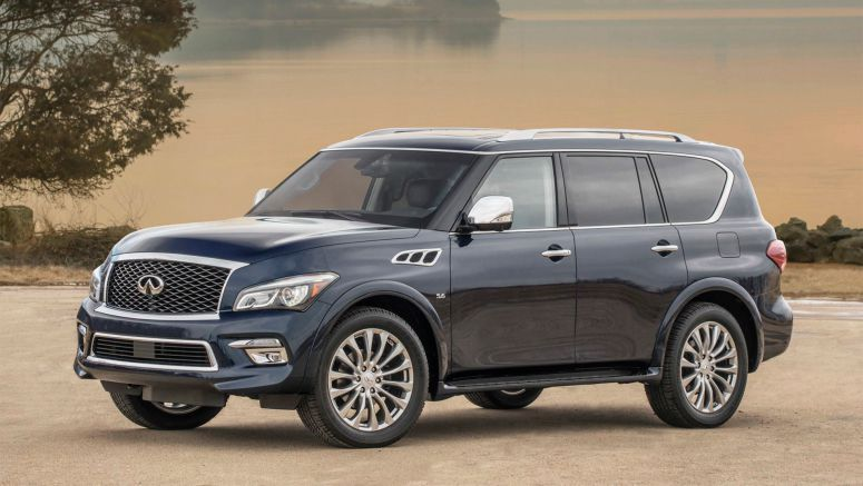 2017 Infiniti QX80 Offers More Comfort & Safety Kit