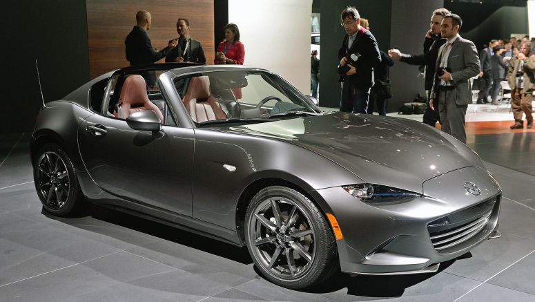 2017 Mazda MX-5 RFs are already being delivered