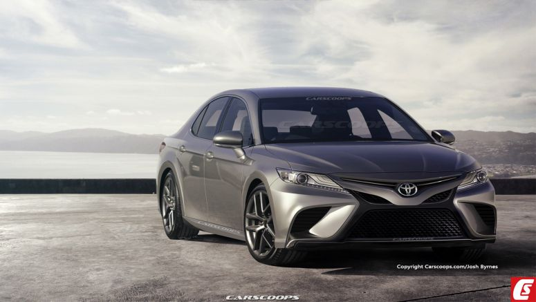 2018 Toyota Camry Imagined