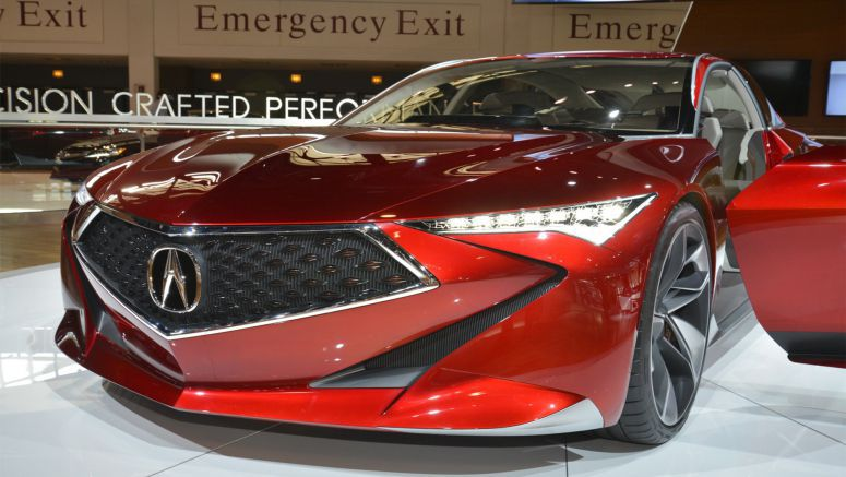 Acura Counting On Design Changes To Help Slowing Sales