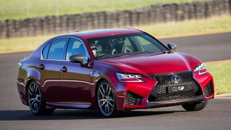 Lexus Upgrades GS F And RC F With AVS