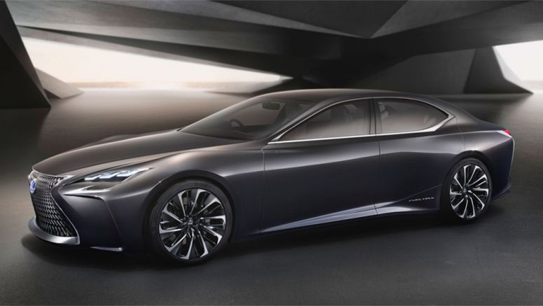 Lexus to Introduce Fuel Cell Vehicle by 2020?
