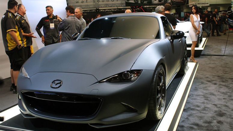 2016 Sema Show: Mazda Reminds Us About Its Obsession with Weight Loss
