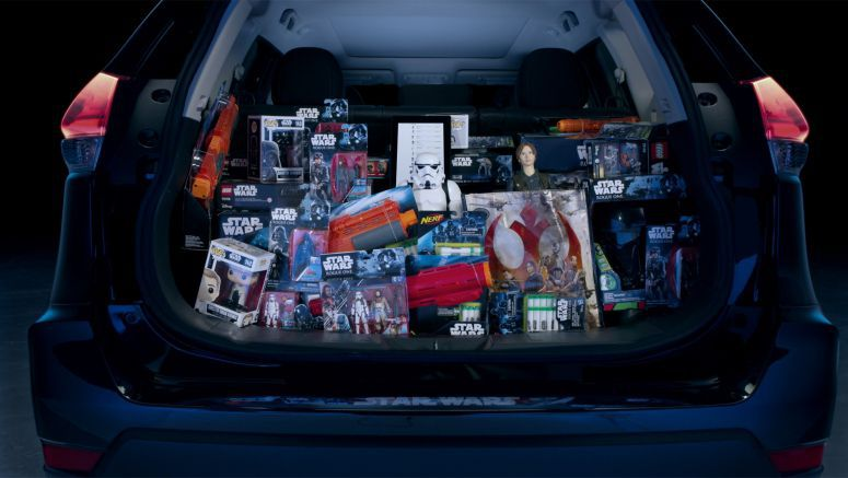 Nissan makes holiday magic with Star Wars: Force for Change Amazon Wish List