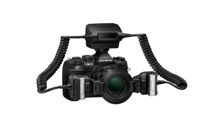 Olympus announces world's first dustproof, splashproof and freezeproof Macro Flash STF-8