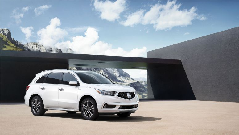 Acura MDX Earns TOP SAFETY PICK PLUS IIHS