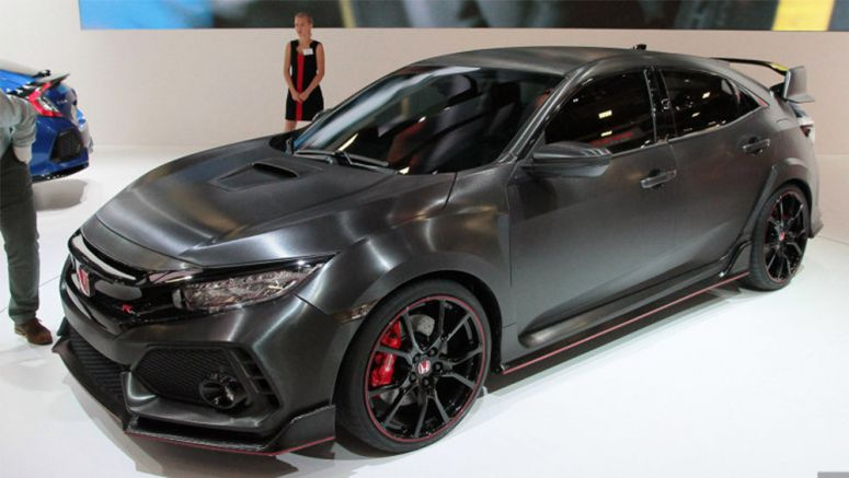 Honda will try to break FWD 'Ring record with 2017 Civic Type R