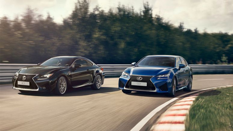 2017 Lexus RC F & GS F Updated with Adaptive Variable Suspension