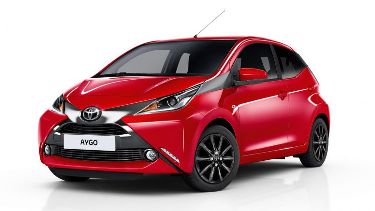2017 Toyota Aygo Gets New X-Press And X-Style Models