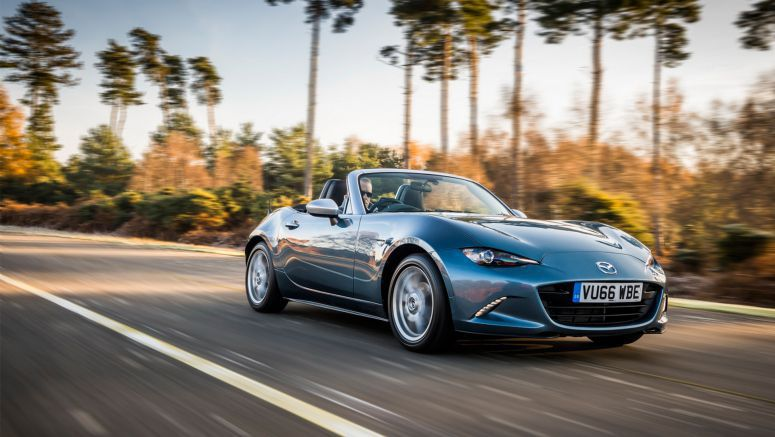 Mazda Cools Up MX-5 With New Arctic Edition For The UK
