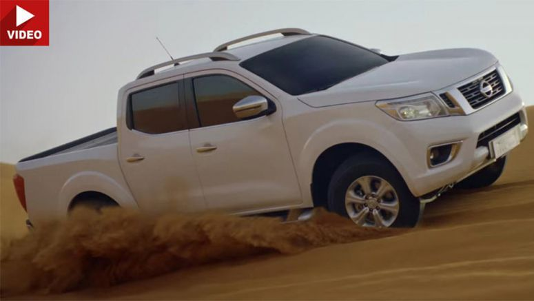 How Nissan Advertises The Navara In The Middle East