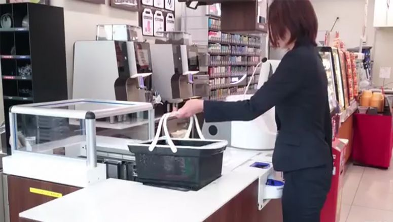 Panasonic Takes Grocery Self-Checkouts To The Next Level