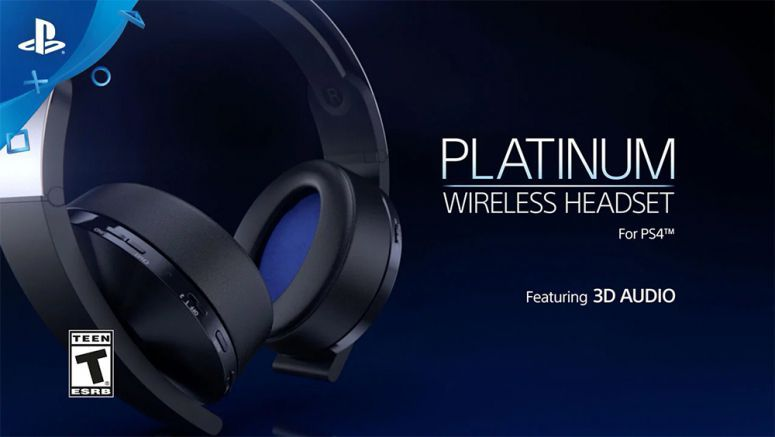 Sony's New PS4 Platinum Wireless Headset Releases January 12th