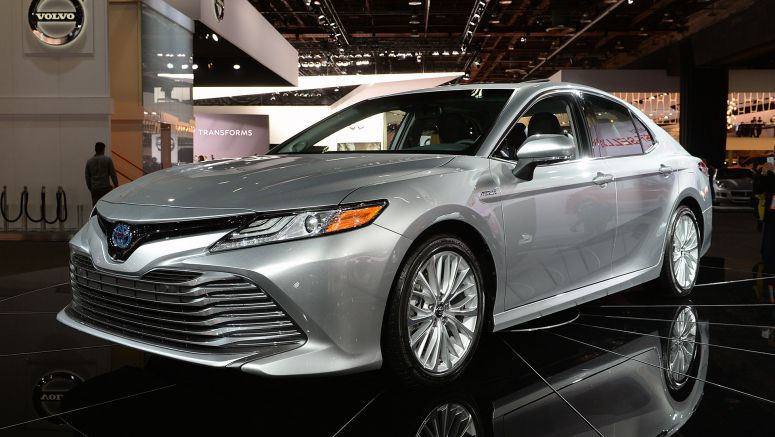 2017 Detroit Auto Show: 2018 Toyota Camry