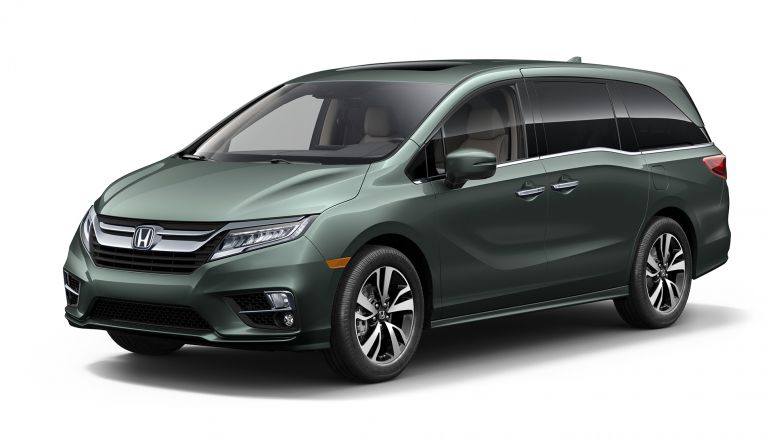 2017 Detroit Auto Show: All-New 2018 Honda Odyssey Minivan