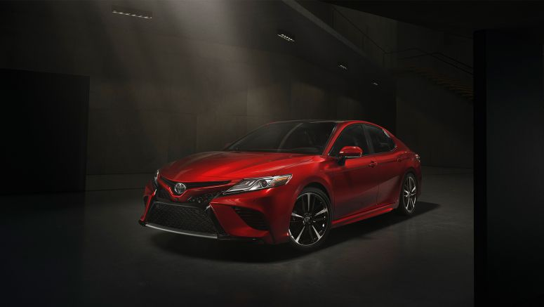 Toyota Reveals New Model Camry Jan 2017
