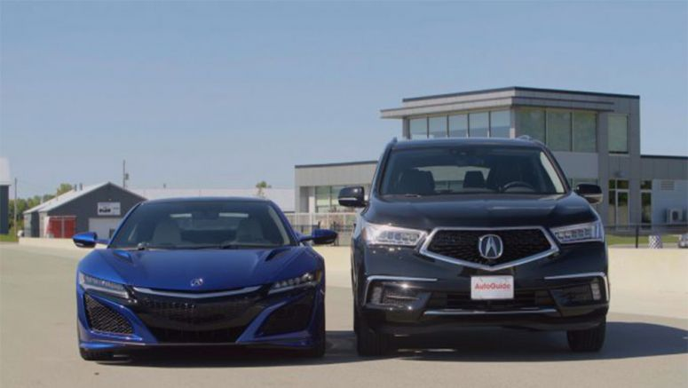 5 Things the Acura NSX and MDX Have In Common