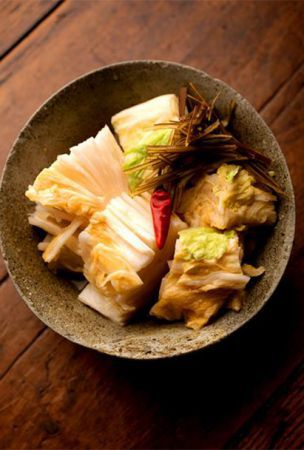 Pickled Chinese cabbage, a daily treat to keep you going all winter