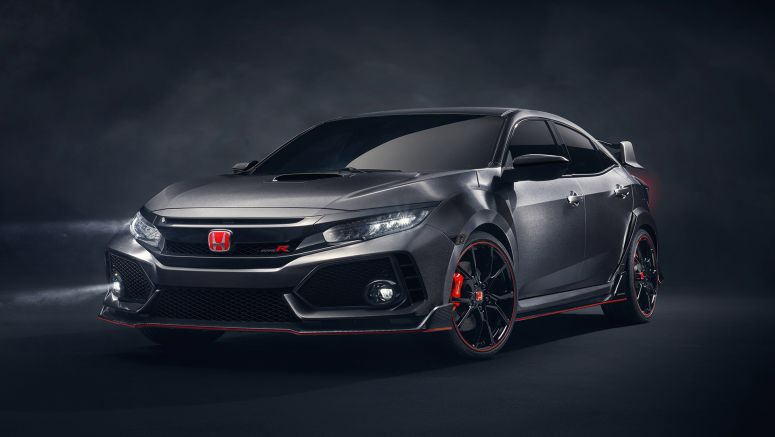 New Civic Type R Prototype makes Asia debut at the 2017 Tokyo Auto Salon
