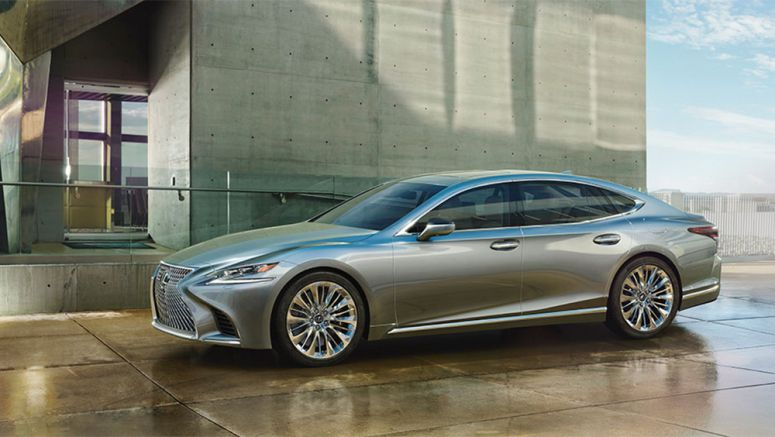 Three World-First Safety Technologies to Debut on New Lexus LS 500