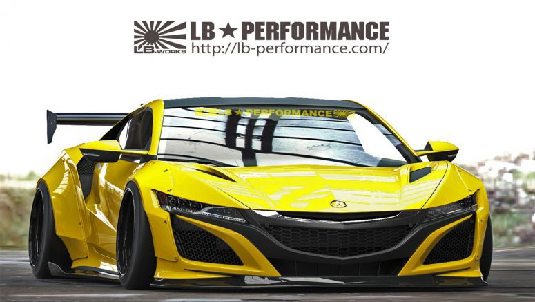 How Do You Feel About A Liberty Walk Acura NSX?