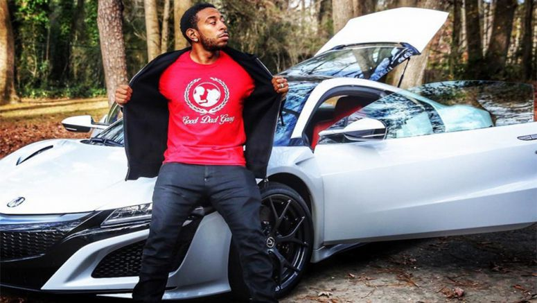 Ludacris Doesn't 'Act A Fool' With His New Ride, An Acura NSX