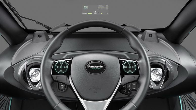 CES 2017: Panasonic Debuts Next-Gen Head-Up Display