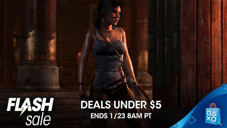 Sony: Deals Under $5 Flash Sale at PS Store
