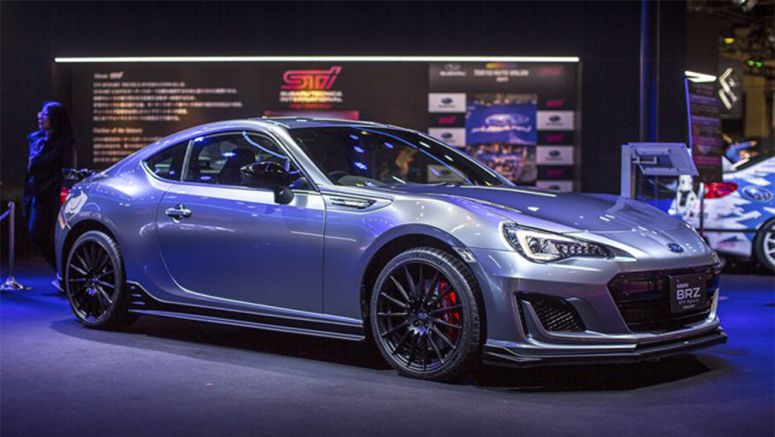 Subaru BRZ STI Sport Concept Plays Games With Our Hearts