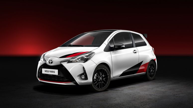 The Toyota Yaris will get a WRC-inspired hot hatch treatment