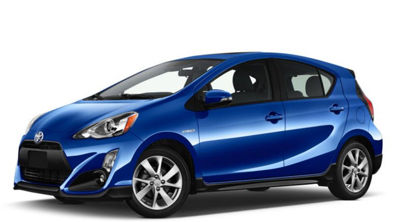 Refreshed 2017 Toyota Prius C adds standard safety features